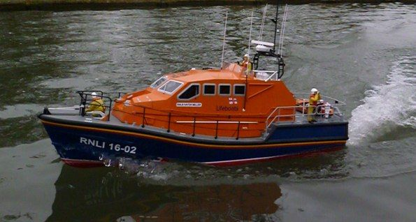 Tamar class lifeboat - Kit & Product Reviews